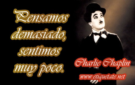 Frases Bonitas de Charlie Chaplin